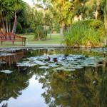 Les jardins des hôtels du monde