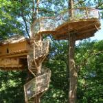 Cabanes dans les arbres : un hébergement insolite en Franche-Comté