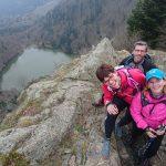 WE Trail sur le massif des Vosges.