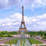 La Tour Eiffel et la région Parisienne de la France